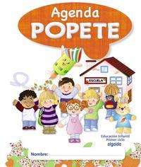 Libro AGENDA DIARIO POPETE. 1º CICLO EDUCACIÓN INFANTIL