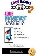 Libro AGILE MANAGEMENT FOR SOFTWARE ENGINEERING: APPLYING THE THEORY OF CONSTRAINTS FOR BUSINESS RESULTS