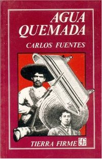Libro AGUA QUEMADA. CUARTETO NARRATIVO