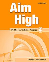 Libro AIM HIGH: LEVEL 4: WORKBOOK WITH ONLINE PRACTICE