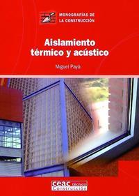 Libro AISLAMIENTO TERMICO Y ACUSTICO