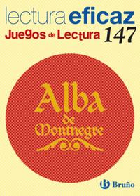 Libro ALBA DE MONTNEGRE JUEGO DE LECTURA