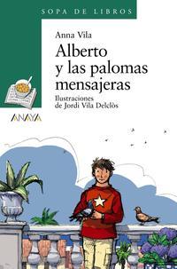Libro ALBERTO Y LAS PALOMAS MENSAJERAS