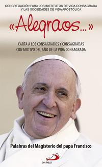 Libro ALEGRAOS: CARTA A LOS CONSAGRADOS Y CONSAGRADAS