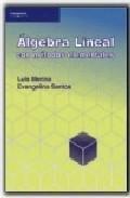 Libro ALGEBRA LINEAL CON METODOS ELEMENTALES