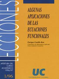 Libro ALGUNAS APLICACIONES DE LAS ECUACIONES FUNCIONALES