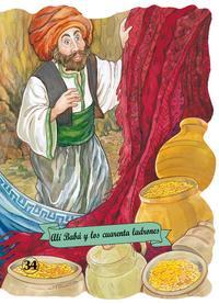 Libro ALI BABA Y LOS 40 LADRONES