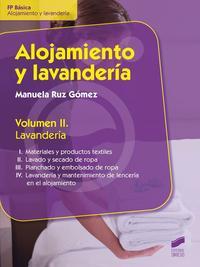 Libro ALOJAMIENTO Y LAVANDERIA: LAVANDERIA