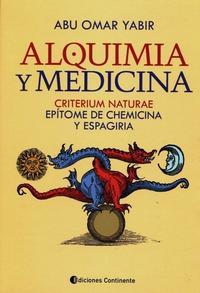 Libro ALQUIMIA Y MEDICINA