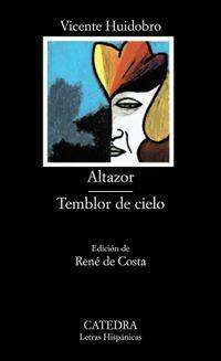 Libro ALTAZOR;TEMBLOR DE CIELO