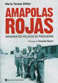 Libro AMAPOLAS ROJAS