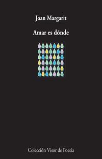 Libro AMAR ES DÓNDE