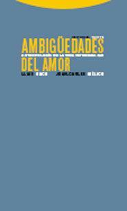 Libro AMBIGÜEDADES DEL AMOR