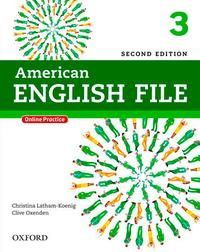 Libro AMERICAN ENGLISH FILE 3STUDENT S BOOK WITH ITUTOR