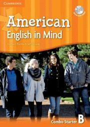 Libro AMERICAN ENGLISH IN MIND STARTER COMBO B WITH DVD-ROM