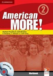 Libro AMERICAN MORE! LEVEL 2 WORKBOOK WITH AUDIO CD
