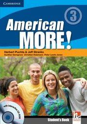 Libro AMERICAN MORE! LEVEL 3 STUDENT S BOOK WITH CD-ROM