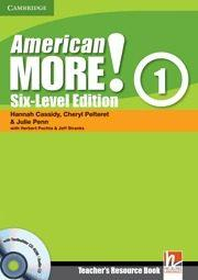 Libro AMERICAN MORE! SIX-LEVEL EDITION LEVEL 1 TEACHER S RESOURCE BOOK WITH TESTBUILDER CD-ROM/AUDIO CD