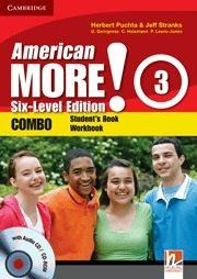 Libro AMERICAN MORE! SIX-LEVEL EDITION LEVEL 3 COMBO WITH AUDIO CD/CD-ROM