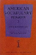 Libro AMERICAN VOCABULARY PROGRAM 3