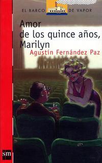 Libro AMOR A LOS QUINCE AÑOS, MARILYN