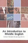 Libro AN INTRODUCTION TO MIDDLE ENGLISH