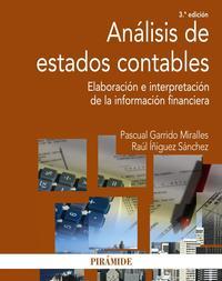 Libro ANALISIS DE ESTADOS CONTABLES: ELABORACION E INTERPRETACION DE LA INFORMACION FINANCIERA