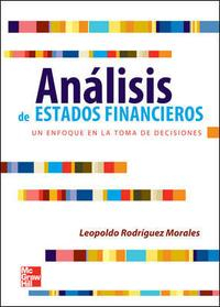 Libro ANALISIS DE ESTADOS FINANCIEROS