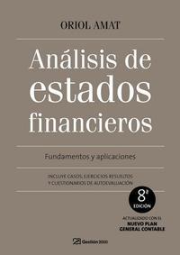 Libro ANALISIS DE ESTADOS FINANCIEROS