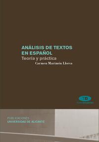 Libro ANALISIS DE TEXTOS EN ESPAÑOL: TEORIA Y PRACTICA
