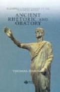 Libro ANCIENT RHETORIC AND ORATORY