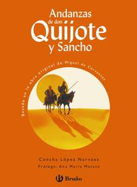 Libro ANDANZAS DE DON QUIJOTE Y SANCHO