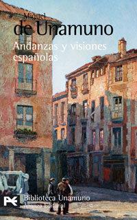 Libro ANDANZAS Y VISIONES ESPAÑOLAS