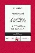 Libro ANFITRION; LA COMEDIA DE LA OLLA
