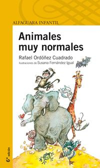 Libro ANIMALES MUY NORMALES