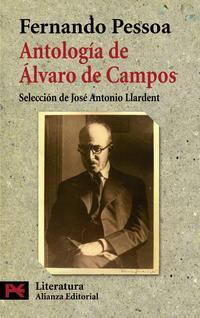 Libro ANTOLOGIA DE ALVARO DE CAMPOS