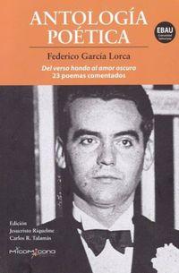 Libro ANTOLOGIA POETICA FEDERICO GARCIA LORCA
