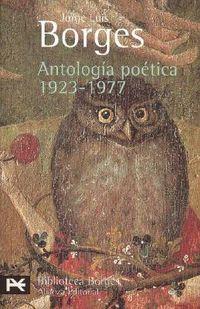 Libro ANTOLOGÍA POÉTICA, 1923-1977