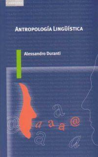 Libro ANTROPOLOGIA LINGUISTICA