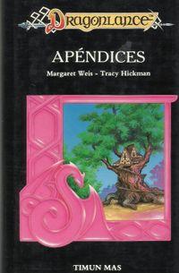 Libro APENDICES DE LA DRAGONLANCE