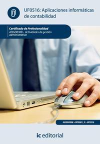 Libro APLICACIONES INFORMATICAS DE CONTABILIDAD. ADGD0308 ACTIVIDADES DE GESTION ADMINISTRATIVA