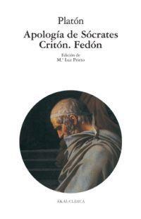 Libro APOLOGIA DE SOCRATES: CRITON: FEDON