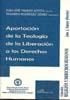 Libro APORTACION DE LA TEOLOGIA DE LA LIBERACION A LOS DERECHOS HUMANOS