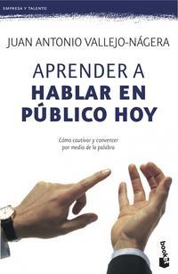 Libro APRENDER A HABLAR EN PUBLICO HOY