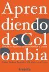 Libro APRENDIENDO DE COLOMBIA: CULTURA Y EDUCACION PARA TRANSFORMAR LA CIUDAD