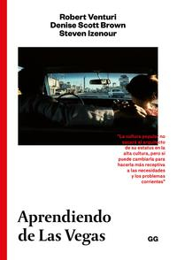 Libro APRENDIENDO DE LAS VEGAS: EL SIMBOLISMO OLVIDADO DE LA FORMA ARQUITECTONICA