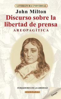 Libro AREOPAGITICA: DISCURSO SOBRE LA LIBERTAD DE PRENSA
