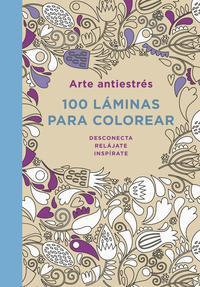Libro ARTE ANTIESTRES: 100 LAMINAS PARA COLOREAR