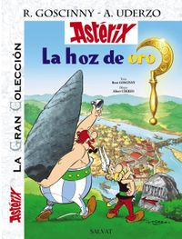 Libro ASTERIX 2: LA HOZ DE ORO