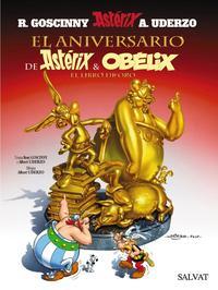 Libro ASTERIX 34: EL ANIVERSARIO DE ASTERIX Y OBELIX: EL LIBRO DE ORO